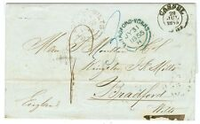 GERMANY/THURN AND TAXIS: Cover to GB Cassel 1855.