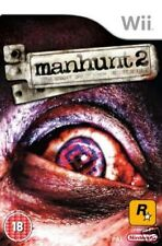 Manhunt 2 (Nintendo Wii, 2008) Factory Sealed - Tracked Delivery