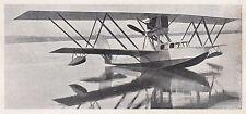 D2795 Idrovolante M 18 con cabina chiusa - Stampa d'epoca - 1922 vintage print