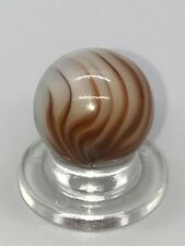 """VINTAGE CHRISTENSEN AGATE FLAME 5/8"""" MARBLE BEAUTIFUL RARE MINT"""