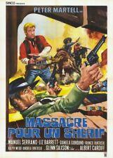 Affiche -  MASSACRE POUR UN SHERIF - 120x160cm