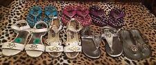 Girls, Flip Flops & Sandals shoes Sz 7-8  lot 7