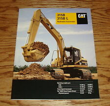 Original 1997 Caterpillar 315B / B L Hydraulic Excavator Sales Brochure 97 Cat