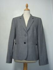 Austin Reed dogtooth jacket 16 VGC lined wool blend