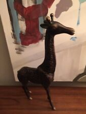 Bronze Metal Giraffe Statue Animal Sculpture