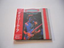 "Gary Moore ""We want Moore"" Rare Japan cd Paper Sleeve"