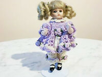 NEW 8 in ANTIQUE REPRODUCTION BRU JNE MINIATURE PATRICIA LOVELESS PORCELAIN DOLL