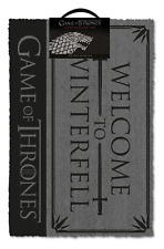 Officiel Game Of Thrones Stark Bienvenue à Winterfell Paillasson Tv Cadeau Got