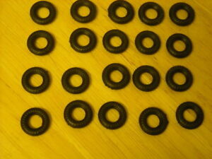 15mm ribbed Dinky replacement tyres pack of 20  K & R Replicas