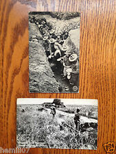 Post Cards The Chicago Daily News Wwi Chow Time & Whippet Tank War