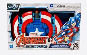 NERF Marvel Avengers Mech Strike Captain America Strikeshot Shield