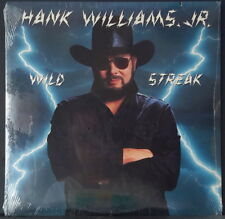 HANK WILLIAMS JR. - WILD STREAK 1988 STILL SEALED ALBUM WARNER/CURB REC 9 257251