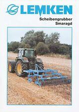 Lemken Scheibengrubber Smaragd Prospekt 2/03 brochure