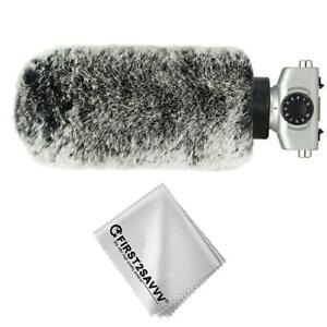 Mikrofone Pelzig Windschutzscheibe Muff Outdoor  Pelz-Windschutz für ZOOM SGH6