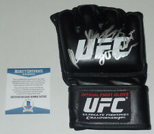FORREST GRIFFIN RAMPAGE JACKSON SIGNED AUTO'D UFC OFFICIAL FIGHT GLOVE BAS COA