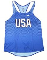 Nike USA Digital Race Day Elite Running Track and Field Singlet Women's M 835974