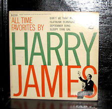 """Harry James & His Orchestra - All Time Favorites VG 7"""" Vinyl EP 1955 CBS B-2014"""