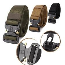 Adjustable Mens Military Waist Belt Combat Straps Tactical Outdoor Rescue CB