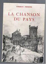 LA CHANSON DU PAYS CHARLES FREMINE 1973  bricquebec cotentin