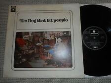 THE DOG THAT BIT PEOPLE Same UK PARLOPHONE LP 1971 rare PSYCH PROG