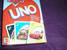 Disney Pixar CARS UNO Card Game
