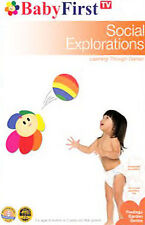 babyfirsttv  baby first tv  SOCIAL EXPLORATIONS learning through games   DVD