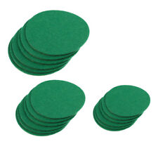 Air Hockey Table Felt Pusher Mallet Goalies Felt Pads, Set of 6, Choose Size