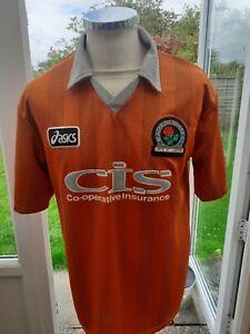Blackburn Rovers 1997 Away Shirt  Size M Adult