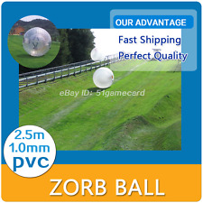 Inflatable Zorb Ball 2.5M/8.2ft ZORB BALL Zorbing Human Hamster ball PVC 1.0MM