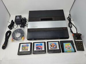 Atari 5200 Console w Power Supply, Games UAV S-Video/RCA Video & Blue Pwr LED #2