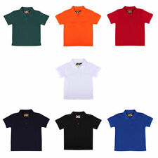 Girls' Collared Short Sleeve Sleeve Polyester T-Shirts, Top & Shirts (2-16 Years)