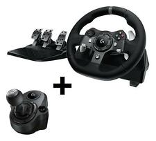 Logitech G920 Xbox Wheel + G Driving Force Shifter for Xbox One and PC Combo