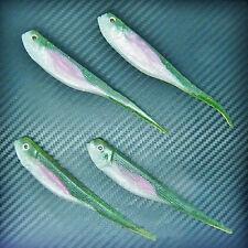 Minnow Shad Needle Tail Soft Lures Fishing Tackle Swimbait Jig Head Hook 13cm