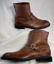 Mens Size 9.5 M Gadsden Brown Leather Short Boot by Florsheim