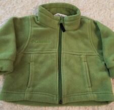 Columbia Boys Green Fleece Long Sleeve Winter Snow Jacket 18 Months