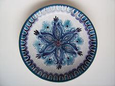 Keramik Wandteller Schale Gmunden Austria pottery 50s Craquele-Glasur vintage