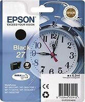 Epson T2701 Alarm Clock Black Ink WorkForce WF3620 3640 7110 7610 Genuine