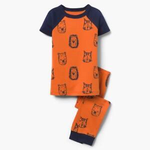 NWT Gymboree Boy Safari Zoo Gymmies Pajama Orange SET Many Sizes