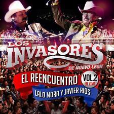 Los Invasores de Nuevo Leon el Reencuentro Vol 2 en Vivo Lalo Mora y Javier Rios