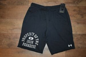 """Under Armour Men's Project Rock """"Property Of"""" Short 9607 Size XL (Black) NWT"""