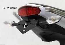 Kawasaki ER6-F ER6-N 2009-2011 black R&G Racing tail tidy licence plate holder