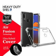 For Motorola Moto E (2020) Heavy Duty Soft Clear Shockproof TPU Case Cover