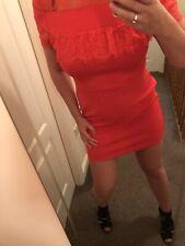 Womens Asos Sexy Red Dress Uk 12
