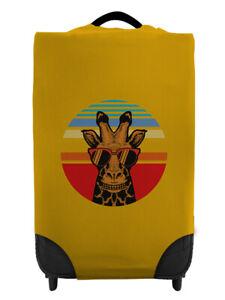 Giraffe Sunset - Orange Caseskinz Case Cover SUITCASE NOT INCLUDED