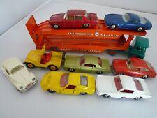 VINTAGE MATCHBOX LESNEY GUY TRANSPORTER & CARS VW LAMBORGHINI JEEP MERCURY 1960s