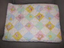 VINTAGE BABY CABBAGE PATCH KIDS QUILT COMFORTER BLANKET ZIP ZIPPERED SLEEP BAG