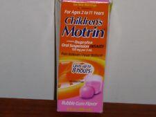 Children's Motrin Children's Oral Suspension, Berry Flavor, 4oz exp 2021