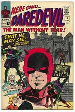 Daredevil #9 (Aug 1965), Wally Wood cover and Art, Plot by Stan Lee, Nice 5.0+