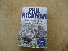 The Prayer of the Shepherd by Phil Rickman First Edition.