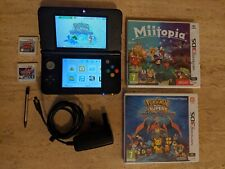 Nintendo 3DS Console & Game Bundle. 4 x Games. TESTED and WORKING. FREE UK POST.